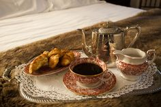 "delicious brakfast at bed in ""teCuento3 Castrillo""!"