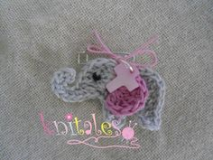 Image Christening, Crochet Earrings, Deco, Sewing, Knitting, Jewelry, Greece, Favors, Image