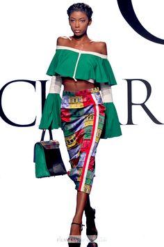 Charles & Ron Collection ss17. Model: Nautica Lisbey. Art Hearts Fashion Week LA.