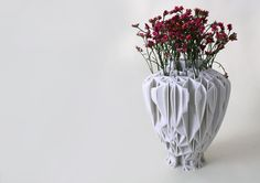 Pattern Vase by Lilian van Daal