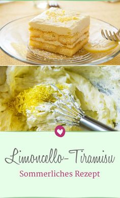 Limoncello-Tiramisu: The recipe for summer lovable - Rezepte: Desserts Gluten Free Cookie Recipes, Holiday Cookie Recipes, Chocolate Cookie Recipes, Holiday Desserts, Baking Recipes, Chocolate Tarts, Almond Meal Cookies, Butter Cookies Recipe, Italian Desserts