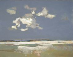 Holkham Sands by John Newland--oh, the light! Abstract Landscape Painting, Seascape Paintings, Nature Paintings, Landscape Art, Landscape Paintings, Watercolor Paintings, Water Art, Art Abstrait, Beautiful Artwork