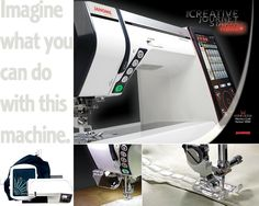 Is this the Porsche of sewing machines? It... it sparkles.