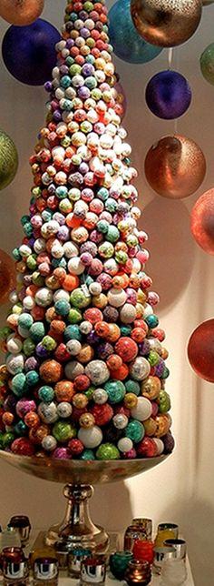 Christmas Tree   Jewel Tones