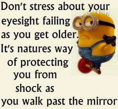 Looking in the mirror #minions #shock                                                                                                                                                                                 More