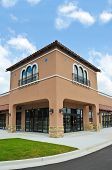 Photo about New Commercial Building with Retail and Office Space available for sale or lease. Image of modern, commercial, building - 30276147 Mason Ohio, Ohio Real Estate, Strip Mall, Mall Design, Space Available, Affordable Housing, Luxury Homes, Commercial, Retail