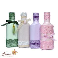 Декор бутылок                                                                                                                                                                                 Más