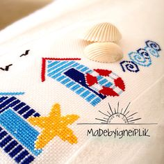 Crossstitch beach