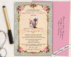 New To Cupiddesigns On Etsy Hand Drawn Invitation Gold Glitter