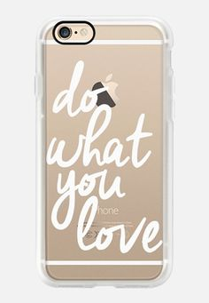 Casetify iPhone 7 Case and Other iPhone Covers - Do What You Love by I Love Printable | #Casetify