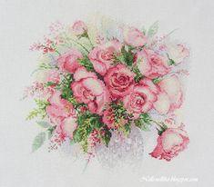 Nelli: Акварельные розы. Риолис