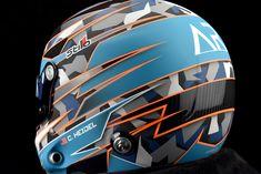 Custom Painted Stilo GT Carbon by Veneratio Designs Motorcycle Helmet Design, Racing Helmets, Bicycle Helmet, Karting, Helmet Paint, Custom Helmets, High Hips, Conceptual Design, Bike Stuff