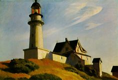 Edward Hopper The Lighthouse at Two Lights painting for sale, this painting is available as handmade reproduction. Shop for Edward Hopper The Lighthouse at Two Lights painting and frame at a discount of off. American Realism, American Artists, Edouard Hopper, Edward Hopper Paintings, Drawn Art, Robert Rauschenberg, Piet Mondrian, David Hockney, Cultural