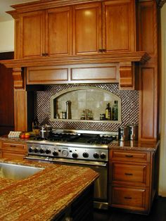 Like the area above the stove for most used seasonings.