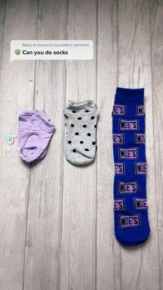 Diy Clothes Life Hacks, Diy Clothes And Shoes, Clothing Hacks, Home Organization Hacks, Closet Organization, Organizing, Simple Life Hacks, Useful Life Hacks, Folding Socks