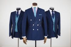 double breasted groom suit by Jack Bunneys