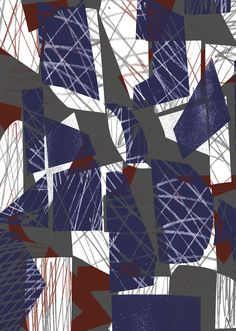 Criss Cross Collage - Sarah Bagshaw