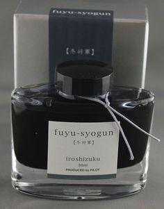 Pilot Iroshizuku Fuyu-syogun - Old Man Winter (50ml Bottle)