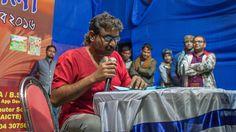 Interview live : Best Bengali Poem of Silajit, reading at Khilkapur Book...