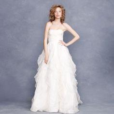 J.Crew wedding gown