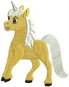 Free Embroidery Design: Unicorn