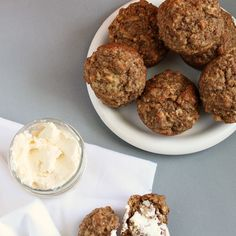 A classic bran muffin recipe found on the back of a cereal box that was amped up to made even healthier! Such a great grab-and-go snack!