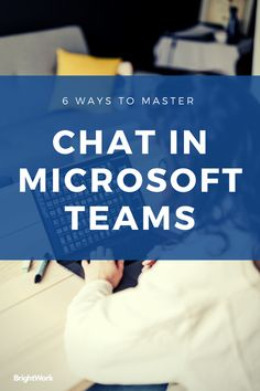 6 Ways to Master Chat in Microsoft Teams #SharePoint2019 #SharePoint2016 #SharePoint2013 #SharePoint #projectmanagement #projects #PPM #PMO #BrightWork #PPMsoftware #collaboration #teamwork #remoteteams #distributedteams #remoteworking #workfromhome #remoteprojects #Teams #MSTeams #MicrosoftTeams Project Site, Important News, Custom Tags, Use Case, The Marketing, Copywriting, Project Management, Teamwork, Small Groups