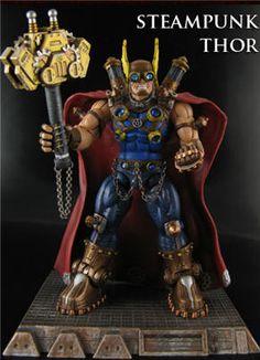 Steampunk Thor Marvel Legends Custom