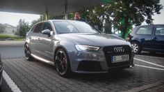 Another shot of an Audi RS3 Audi Rs3, Bmw, Vehicles, Car, Vehicle, Tools