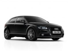 Audi A3 hatchback - My car and in Brilliant Black......who could not love this one!