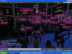SECOND LIFE · Barcelona Virtual Island · Operation Triunfo Party, 2008