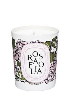 Diptyque Limited-Edition 'Rosafolia' Candle