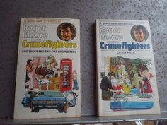 Roger Moore and the Crimefighters  1977 paperback Books Action Adventure Crook Ahoy One Thousand and one Shoplifters  007 James Bond by bastarduk on Etsy