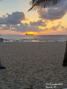 Beautiful sunrise view at Las olas Free Postcards, Beautiful Sunrise, Florida, Celestial, Sunset, Beach, Outdoor, Outdoors, The Beach