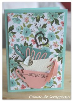 Carte d'anniversaire So British #stampinup #occasion2016
