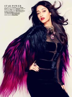 Ileana D'Cruz- Harper's bazaar Magazine - Sept 2012 ***