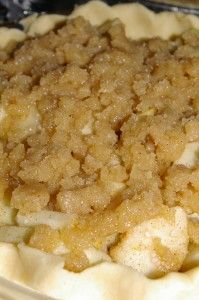 com brandied apple pie with cinnamon sugar topping brandied apple pie ...