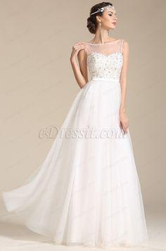 eDressit Sleeveless Sweetheart Wedding Dress Reception Dress (01151507) #edressit #wedding_gown #fashion #women