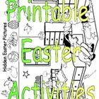 Hop into spring with printable Easter activities for pre k through 4th grade. Easter paper projects for rabbit ears, a 3D Easter egg, a basket and ...