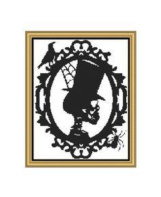 PDF Cross Stitch PatternCameo Skull von CrossStitchVillage auf Etsy
