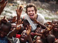 Harry Styles in Ghana