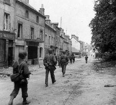 Sainte-Mère-Eglise, june 7, 1944.