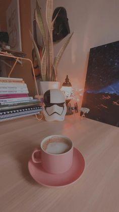 Snow Night, Curious Cat, Star Wars Art, Bookshelves, Something To Do, Darth Vader, Coffee, Tableware, Vanilla