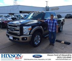 Congratulations Gary on your #Ford #Super Duty F-250 SRW from Joel Massey at Hixson Ford of Alexandria!  https://deliverymaxx.com/DealerReviews.aspx?DealerCode=UDRJ  #HixsonFordofAlexandria