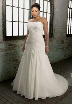 http://www.gopromdress.co.uk/aline-chiffon-laceup-back-applique-plus-size-wedding-dress-p-4932.html