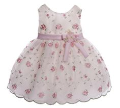 Caldore Infant Ivory and Pink Organza Embroidered Dress Size 18M CALDORE USA,http://www.amazon.com/dp/B00D9AUALW/ref=cm_sw_r_pi_dp_BUAesb0DF7Z0GJ5T