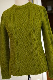 Aran knitting pattern beautiful