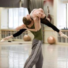 Australian Ballet in rehearsal.