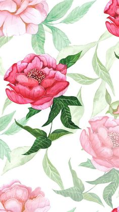 Floral Roses ★ Download more vintage iPhone Wallpapers at @prettywallpaper