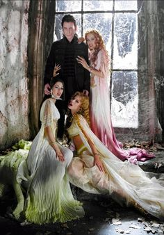 Dracula and his three brides from the movie Van Helsing
